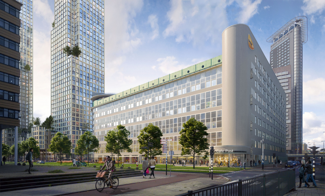 Stationspostgebouw - (c) KCAP Architects & Planners